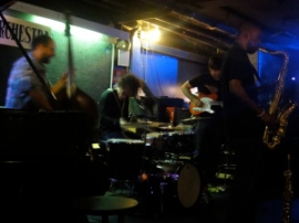 Jam session at Fat Cat